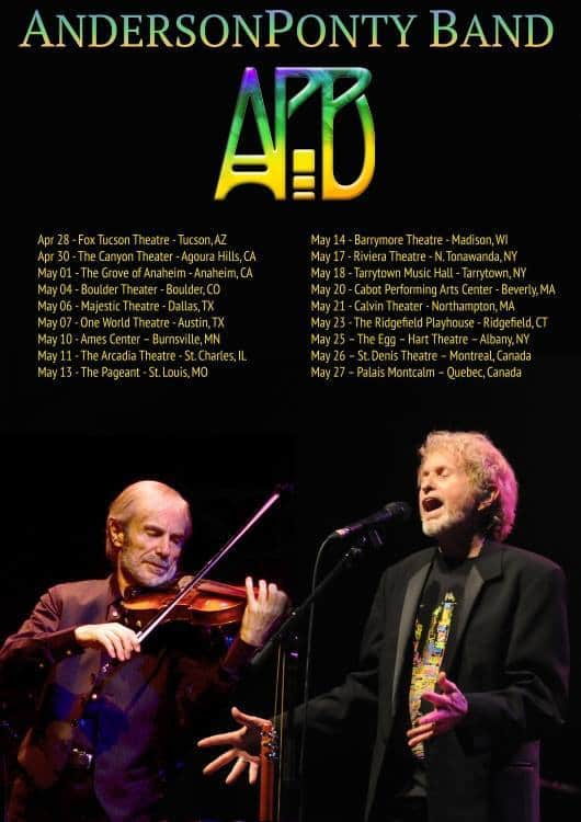 Anderson Ponty Band_Tour Dates