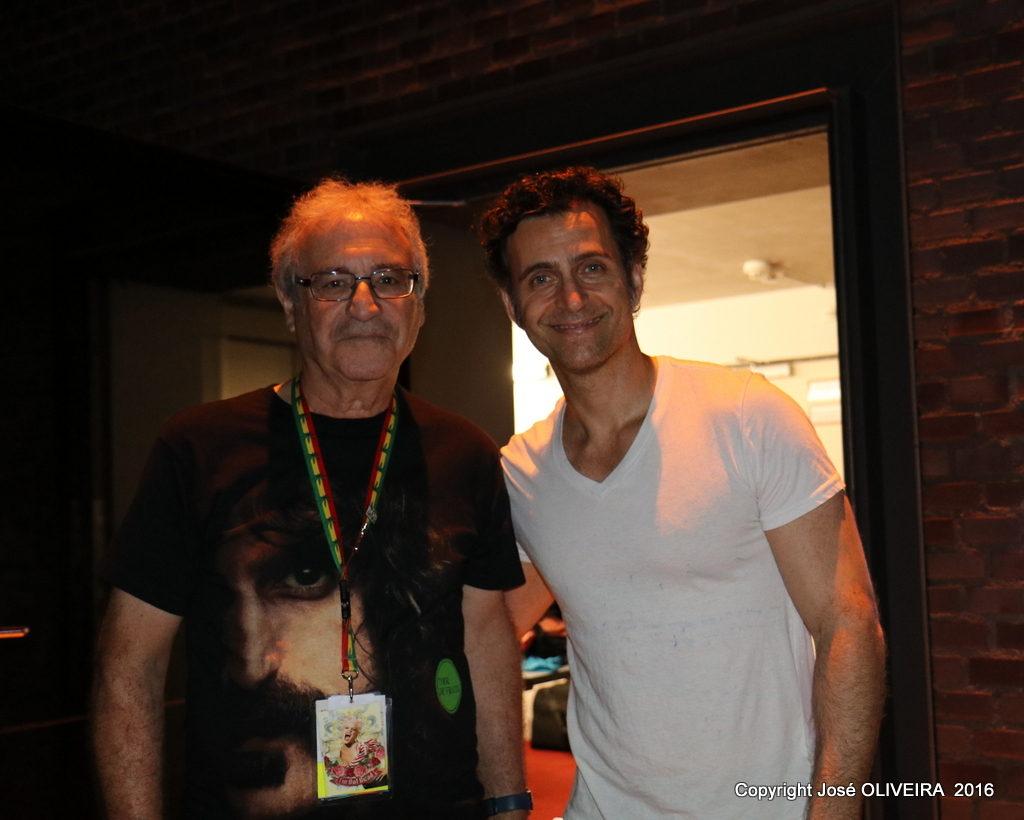 Jose Oliveira and Dweezil Zappa-Stimmen Festival