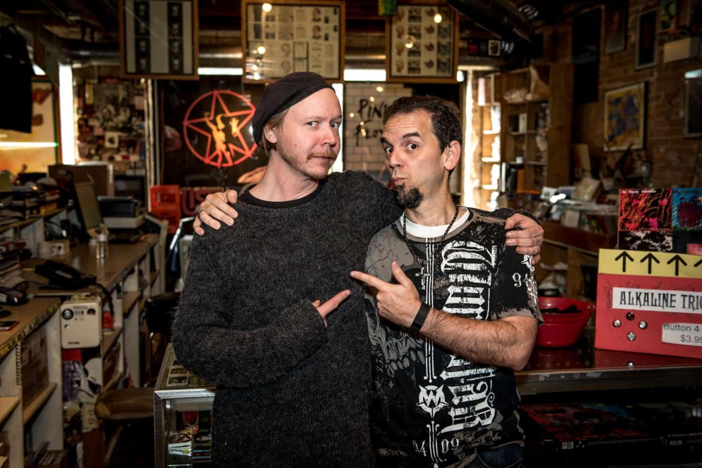 Joel Barrios and Necromonkey's drummer Mattias Olson