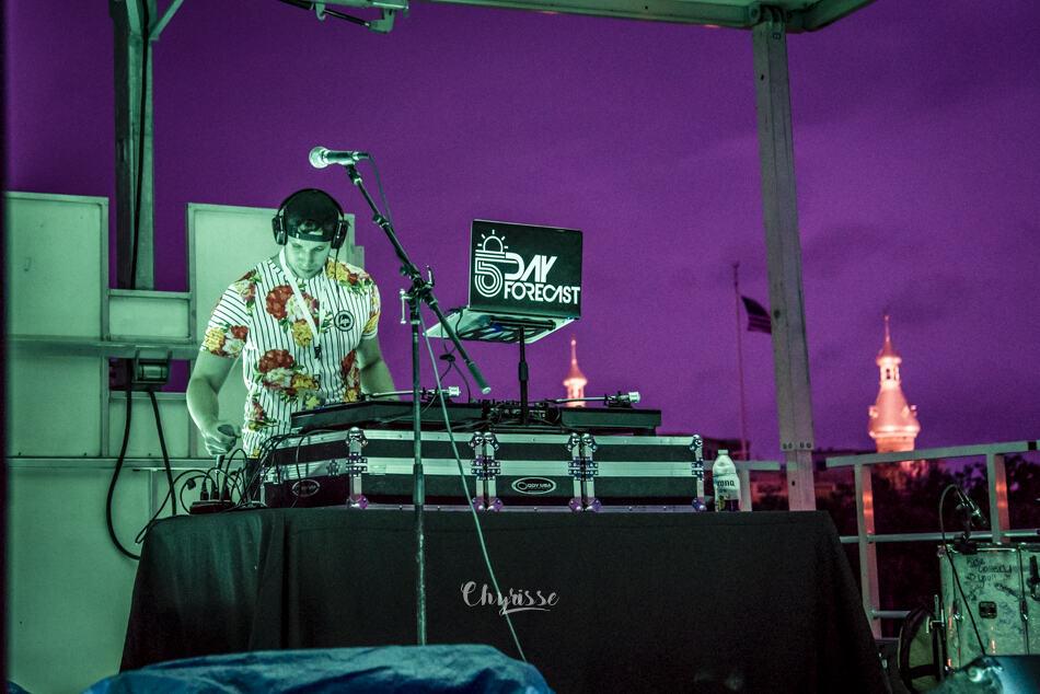 DJ at Margarita Festival