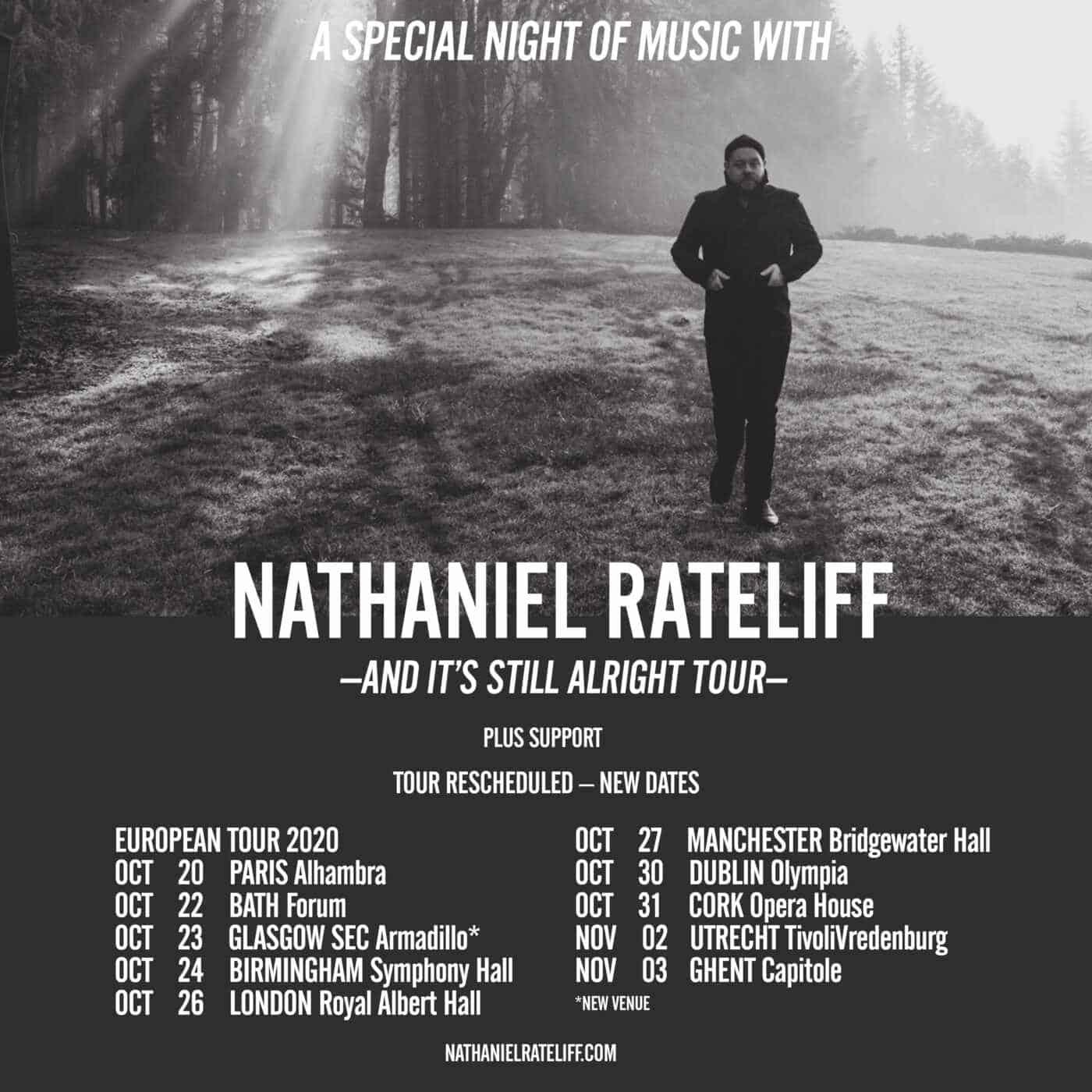 Nathaniel Rateliff Tour Poster