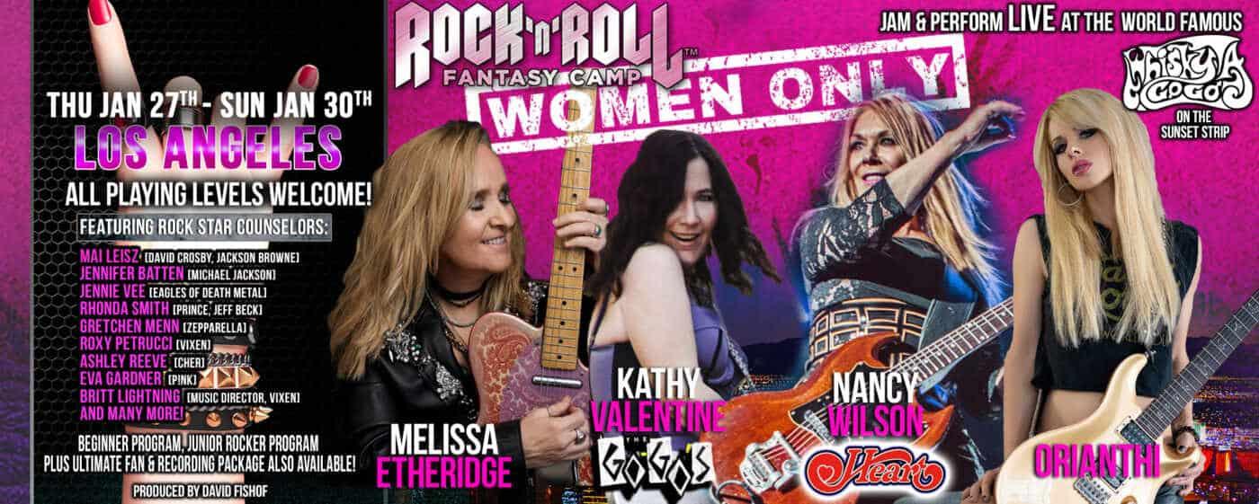 Rock & Roll Fantasy Camp